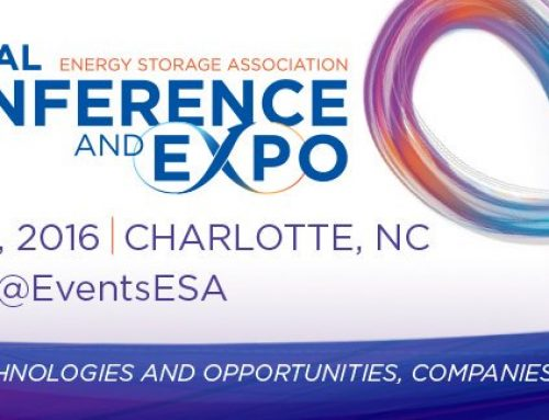 Energy Storage Association Conference and Expo 2016 – Charlotte, NC